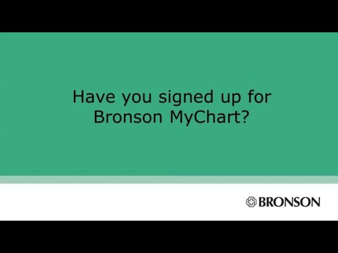 Bronson employees get connected with mychart youtube