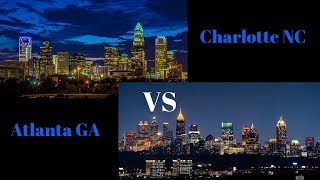 I know a lot of people compare charlotte to atlanta but personally feel like is years behind atlanta. baby version atlanta? i'll leave that to...