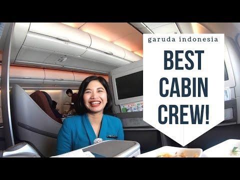 GARUDA BUSINESS CLASS A330-200 | FLIGHT GA407 BALI TO JAKARTA