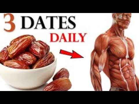 If You Eat 3 Dates Everyday For 1 Week This Is What Happens To Your Body!
