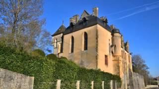 Château châtillon en Bazois Nièvre