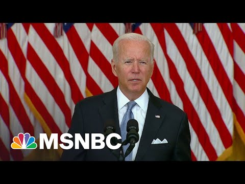 """Biden """"Won't Order U.S. Troops To Risk Their Lives When Afghan Forces Would Not"""""""