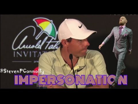 (IMPRESSION) Rory McIllroy trades insults with Sergio Garcia