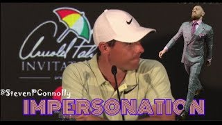Rory McIlroy insults Sergio Garcia (PARODY)