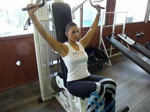 Exercice De Musculation Paules Dvelopp Nuque Machine
