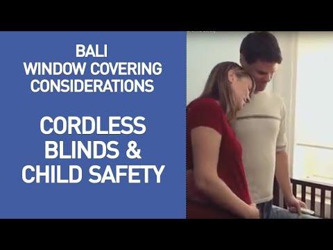 Bali Cordless Lift and Child Safety