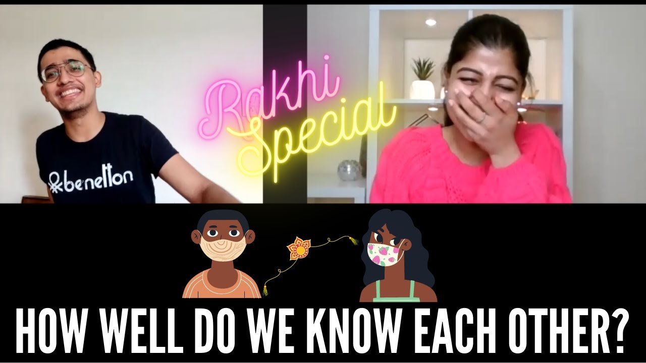 HOW WELL DO YOU KNOW YOUR SIBLING CHALLENGE?? RAKHI SPECIAL || Ft. MY BROTHER || RIDHIMAA MOHINI