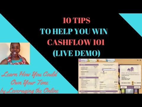 Robert Kiyosaki Game Cashflow 101 -10 tips to get out of the rat race quickly and with lots of cash