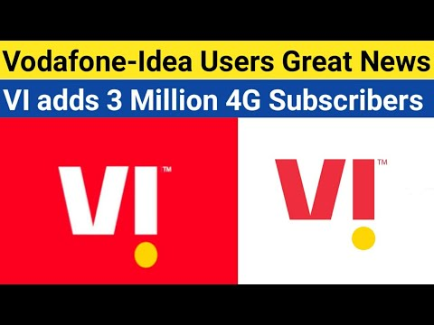 Vodafone-Idea Users Great News | VI Adds 3 Million 4G Subscribers And ARPU Increase