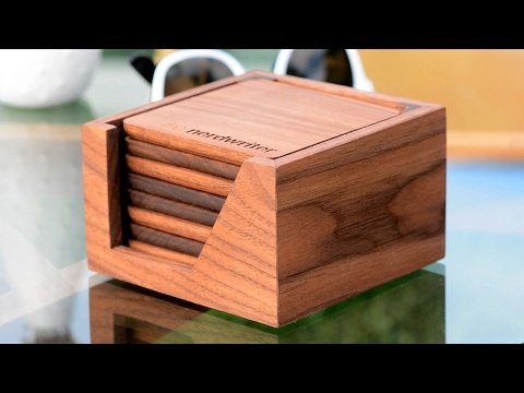 Custom Coasters for Casey Neistat and The Nerdwriter – Woodworking Projects