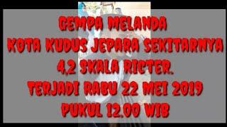 Download Video Berita Terkini, Gempa 4,2 Skala richter Melanda Kudus dan Jepara. MP3 3GP MP4