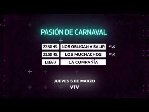 Agenda Carnaval – Jueves 5 de Marzo