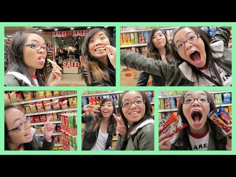 SHENANIGANS IN THE GROCERY STORE (Hong Kong Daily Vlog)