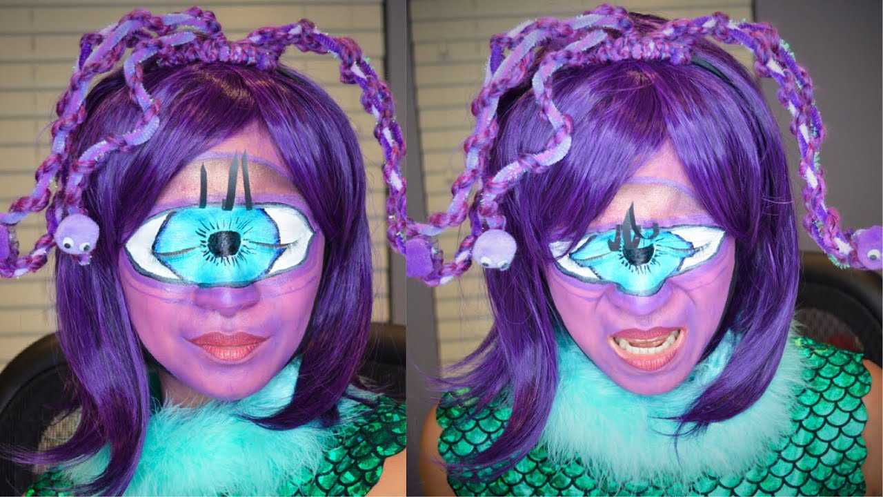 Halloween Makeup Tutorial Monsters Inc Celia Mae Makeupbycess