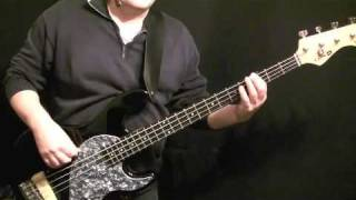 How To Play Bass Guitar To Love Cats - The Cure