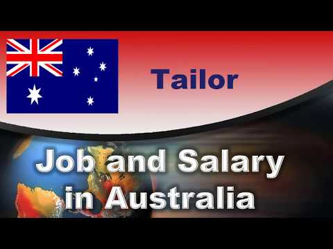 Tailor Salary In Australia - Jobs And Wages In Australia