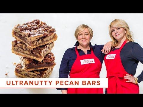 How to Make Ultranutty Pecan Bars