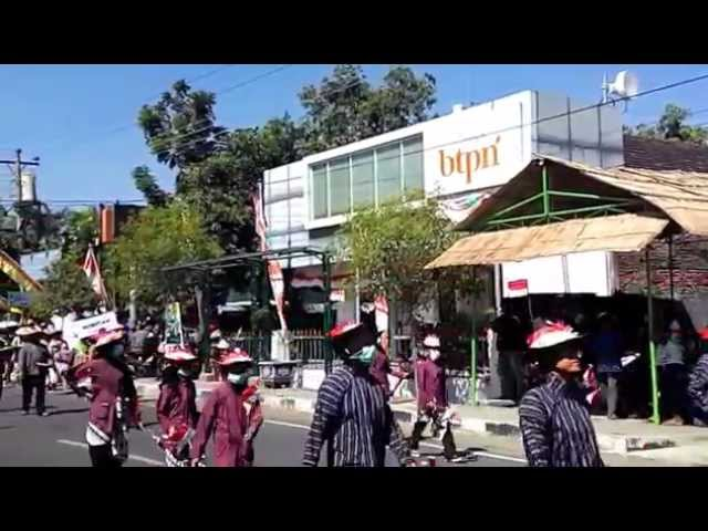 Kirab SENI BUDAYA Desa Kepek, Wonosari, Yogyakarta 01