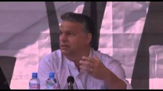 Viktor Orbán's Speech, Tusnádfürdő, 26 July 2014, German English Subtitles