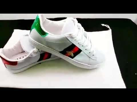 Tênis Gucci Ace abelha - YouTube f288a7146c7