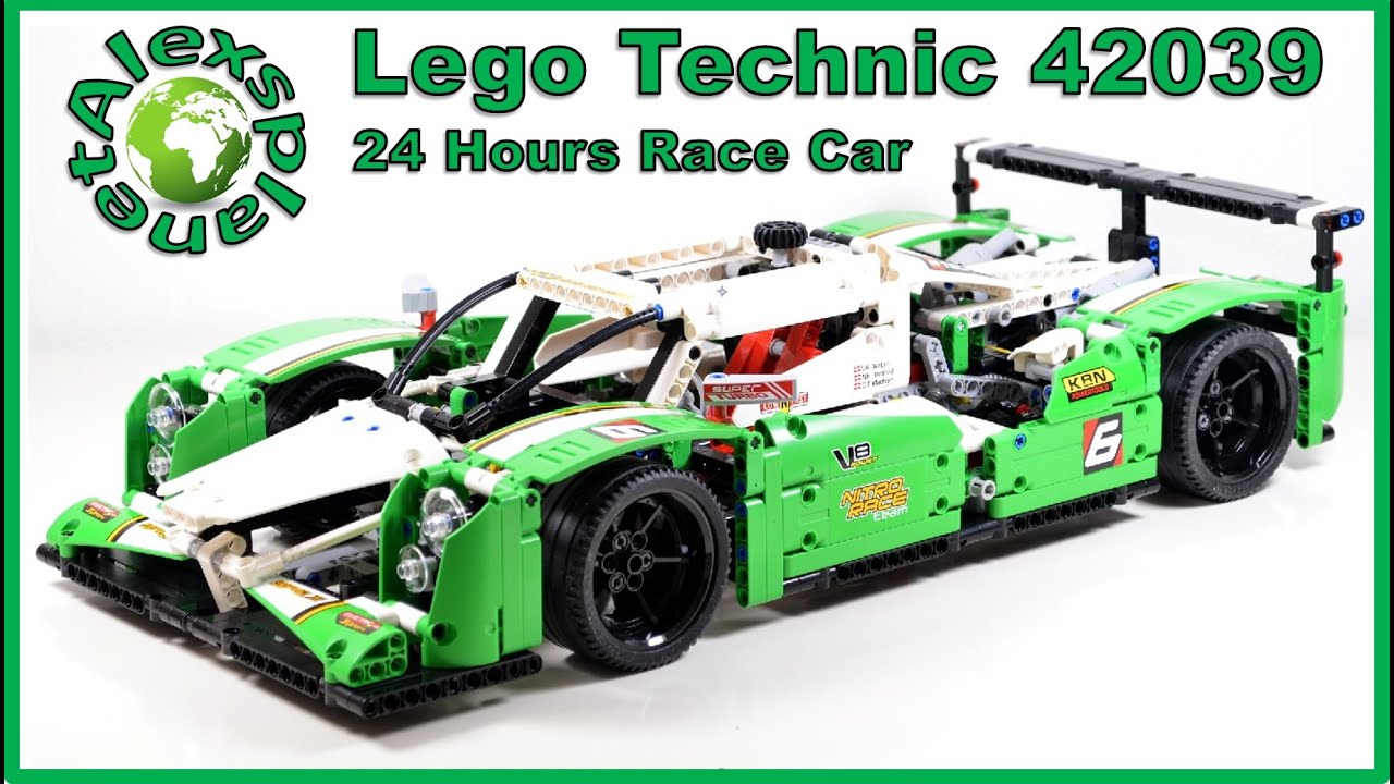 lego technic 2015 42039 24 hours race car unboxing speed. Black Bedroom Furniture Sets. Home Design Ideas
