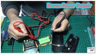 Braun 7630 Shaver Battery Repl…