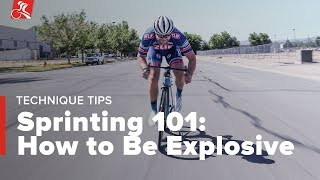 Sprinting 101: How to Be Explosive