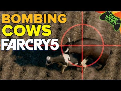 Far Cry 5 - Bombing Cows