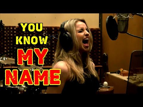 Gabriela Gunčíková - Sing Chris Cornell - You Know My Name - Casino Royale - KenTamplinVocalAcademy