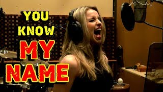 Gabriela Gunčíková - Sing Chris Cornell - You Know My Name - Casino Royale - KenTamplinVocalAcademy