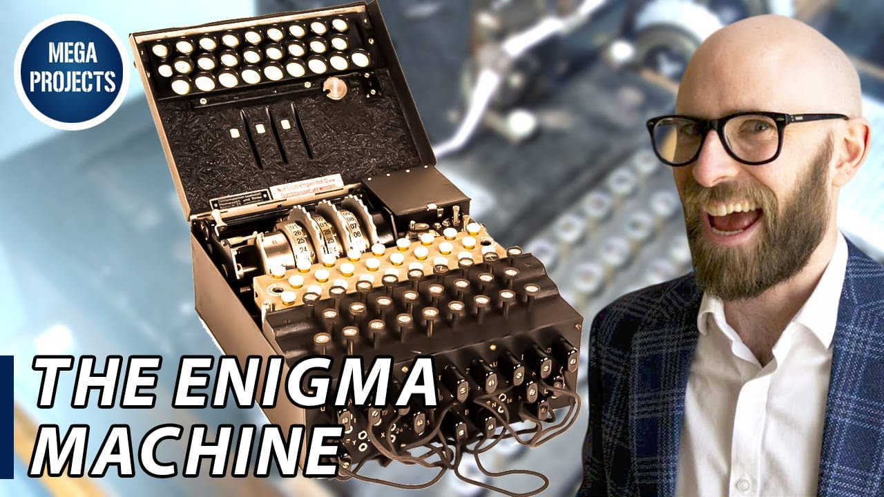 The Enigma Machine The Totally, Definitely, Absolutely Unbreakable  Sequence of German War Codes