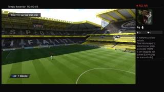 Transmissão ao vivo da PS4 FIFA 17