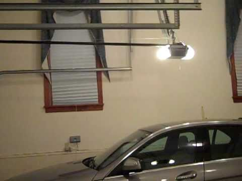 garage door opening on its ownMy Garage Doors Opening And Closing  YouTube