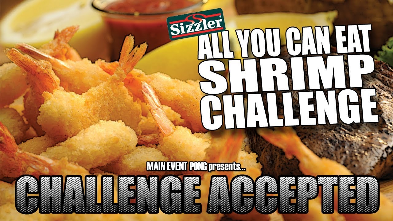ALL YOU CAN EAT SHRIMP CHALLENGE | Sizzler - YouTube