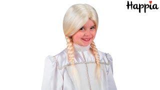 Детский парик Снегурочки / Обзор