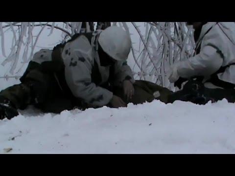 Ополченцы попали под