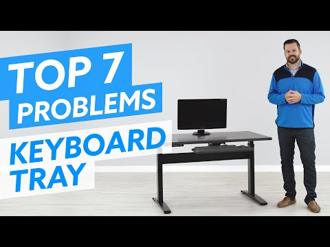 Top 7 Problems And Solutions For Computer Keyboard Trays
