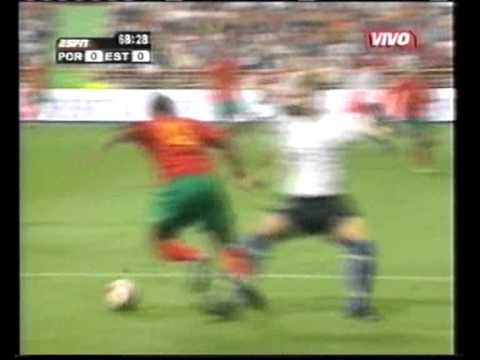 Portugal 4:0 Estonia 2004 (no sound)