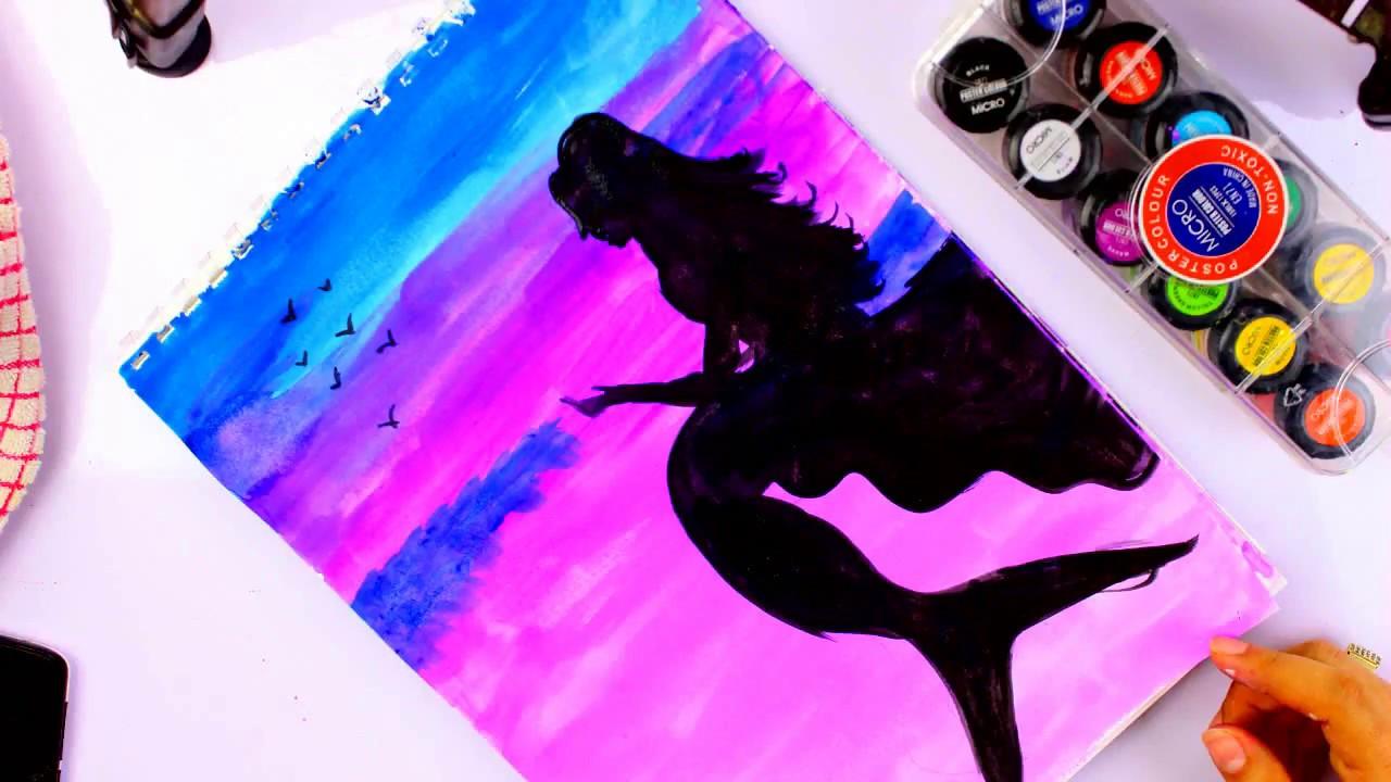تعلم الرسم بالالوان المائية