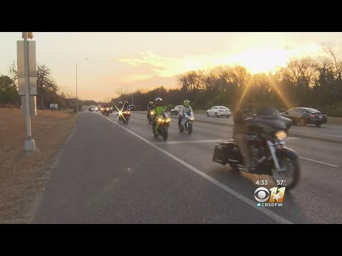 Police, Bikers Escort Girl To School In Stand Against Bullyi