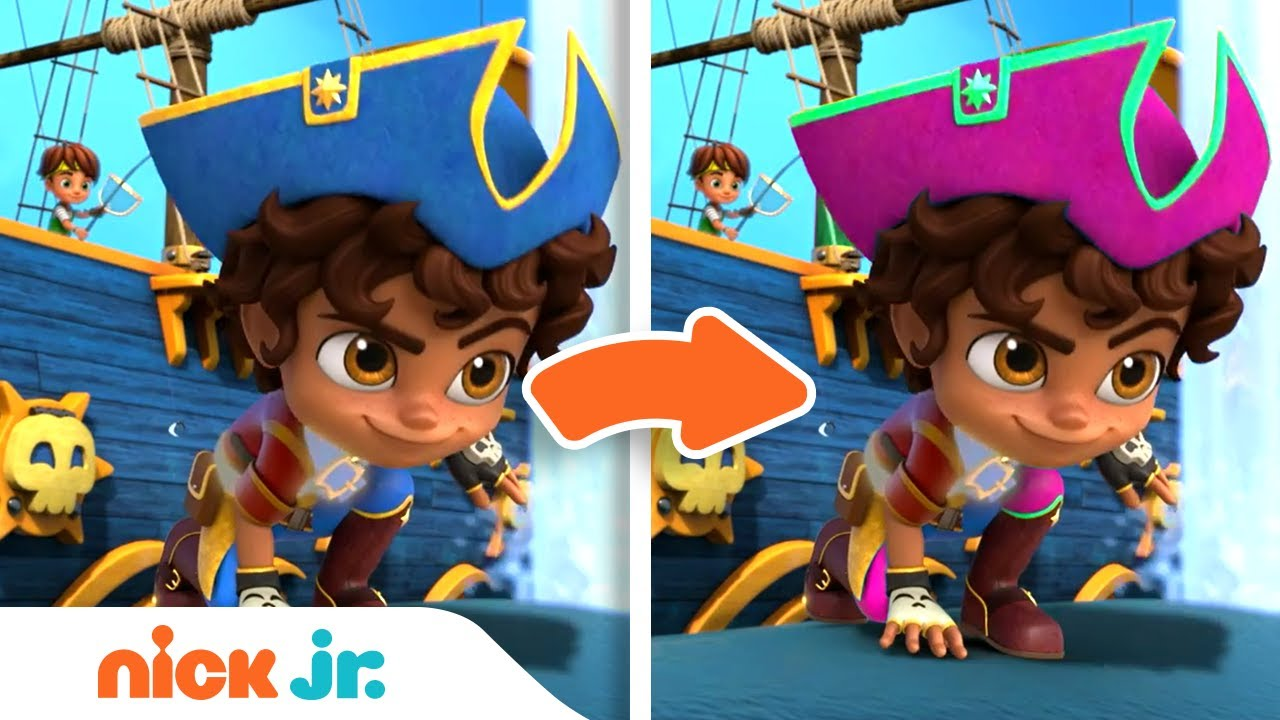 Download Spot the Difference Game #4 w/ Santiago of the Seas! | Nick Jr.