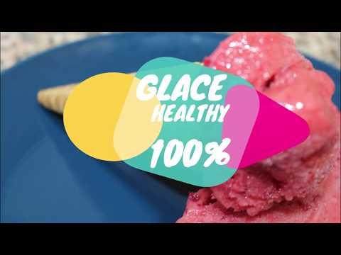 glace maison aux fruits 100% naturelle: recette healthy