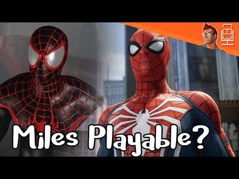 Miles Morales Playable & Will He Take Over For Peter Spider-Man PS4