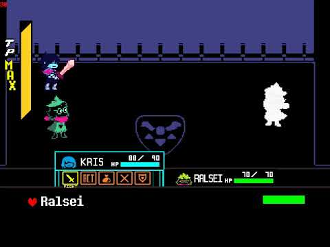Deltarune: Trying to restore the unused Ralsei tutorial battle