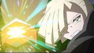 Gladion vs Ash ( Lycanroc Vs Rockruff ) Pokemon Sun Moon AMV - Hit the floor