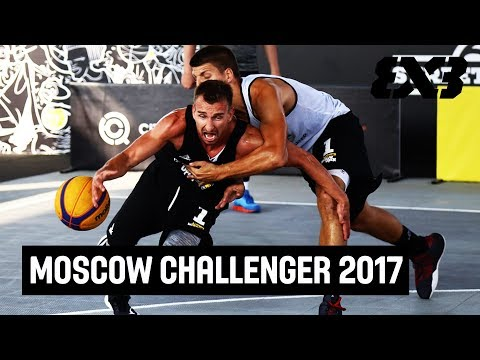FIBA 3x3 Moscow Challenger 2017 - Day 1 - LIVE