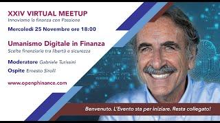 XXIV Virtual meetup   Ernesto Sirolli