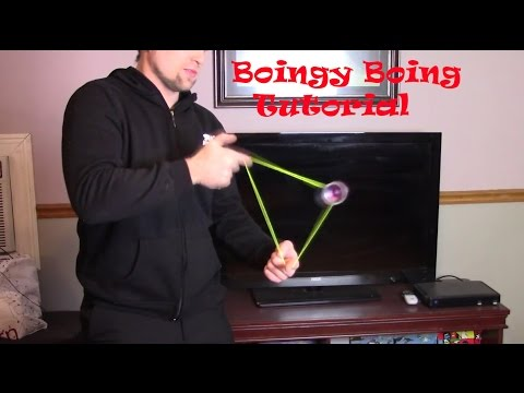 Boingy Boing Yoyo Trick The Easiest Way Tutorial.  How To Do Boing E Boing.