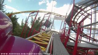 Jet Star 2  On-ride Car Mount (HD POV) Lagoon Park