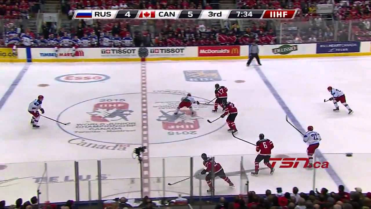 Canada vs Russia Gold Medal Game 2015 IIHF World Junior ...
